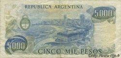5000 Pesos ARGENTINE  1977 P.305a TTB