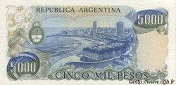 5000 Pesos ARGENTINE  1977 P.305b NEUF