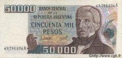 50000 Pesos ARGENTINE  1979 P.307 TTB+