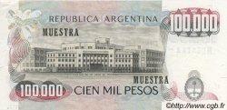 100000 Pesos ARGENTINE  1976 P.308as SPL