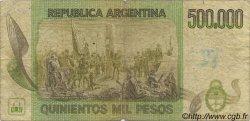 500000 Pesos ARGENTINE  1980 P.309