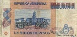 1000000 Pesos ARGENTINE  1981 P.310 pr.TB
