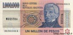 1000000 Pesos ARGENTINE  1981 P.310s SPL