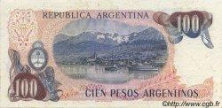 100 Pesos Argentinos ARGENTINE  1983 P.315a TTB