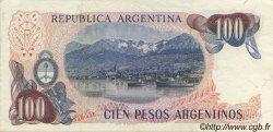 100 Pesos Argentinos ARGENTINE  1983 P.315a SUP