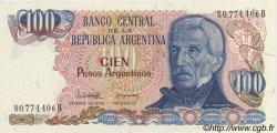 100 Pesos Argentinos ARGENTINE  1983 P.315a NEUF