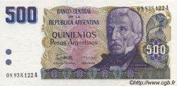 500 Pesos Argentinos ARGENTINE  1984 P.316a SPL