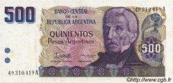 500 Pesos Argentinos ARGENTINE  1984 P.316a NEUF
