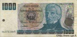 1000 Pesos Argentinos ARGENTINE  1983 P.317a TTB+