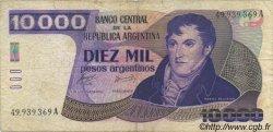 10000 Pesos Argentinos ARGENTINE  1985 P.319a pr.TTB