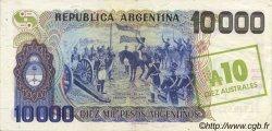 10 Australes ARGENTINE  1985 P.322c NEUF