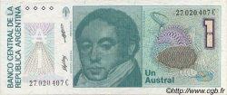 1 Austral ARGENTINE  1985 P.323b TTB