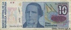 10 Australes ARGENTINE  1985 P.325b TTB