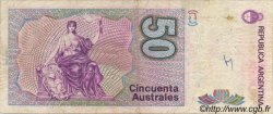 50 Australes ARGENTINE  1986 P.326a B+