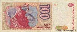 100 Australes ARGENTINE  1990 P.327a TTB