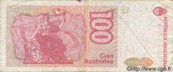 100 Australes ARGENTINE  1990 P.327c TB+