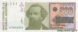 500 Australes ARGENTINE  1988 P.328b SPL