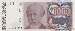 1000 Australes ARGENTINE  1988 P.329a SPL