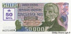 50000 Australes ARGENTINE  1989 P.332 NEUF