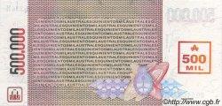 500000 Australes ARGENTINE  1990 P.333 pr.NEUF