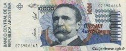 10000 Australes ARGENTINE  1989 P.334a SUP