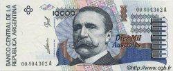 10000 Australes ARGENTINE  1989 P.334a NEUF