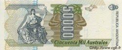 50000 Australes ARGENTINE  1989 P.335 NEUF