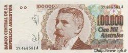 100000 Australes ARGENTINE  1990 P.336 NEUF