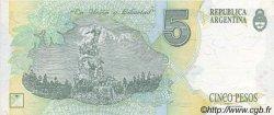 5 Pesos ARGENTINE  1992 P.341a NEUF