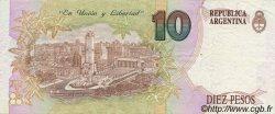 10 Pesos ARGENTINE  1992 P.342b SUP