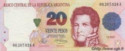 20 Pesos ARGENTINE  1992 P.343a NEUF