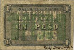 1 Peso ARGENTINE  1869 PS.-- TB