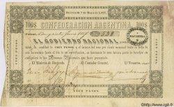 100 Pesos ARGENTINE  1857 PS.0184 TTB+