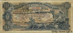 1 Peso ARGENTINE  1891 PS.0573a TB+