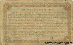 5 Centavos ARGENTINE  1891 PS.0611 TTB