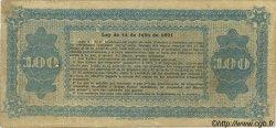 100 Pesos ARGENTINE  1891 PS.0621 pr.TTB