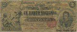 2 Pesos ARGENTINE  1891 PS.1092b B