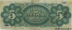 5 Pesos ARGENTINE  1873 PS.1460 TB