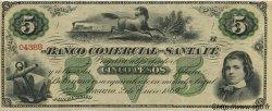 5 Pesos Plata Boliviana ARGENTINE  1869 PS.1595 SPL