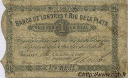 1 Real Plata Boliviana ARGENTINE  1866 PS.1731 B
