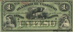 1 Peso Boliviana ARGENTINE  1869 PS.1782r SPL+