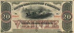 20 Pesos Fuertes ARGENTINE  1869 PS.1794 NEUF