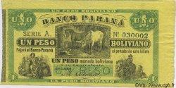 1 Peso Boliviano ARGENTINE  1868 PS.1815a TTB+