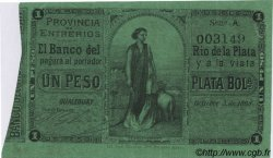 1 Peso plata Boliviana ARGENTINE  1868 PS.1835b TTB