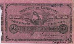 2 Pesos ARGENTINE  1868 PS.1836b TTB