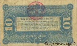 10 Centavos ARGENTINE  1893 PS.2042 TTB