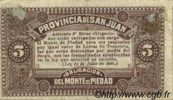 5 Centavos ARGENTINE  1895 PS.2192 TTB