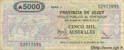 5000 Australes ARGENTINE  1986 PS.2412 TB+