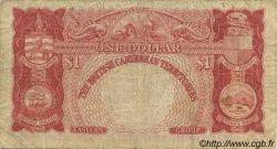 1 Dollar CARAÏBES  1950 P.01 TB