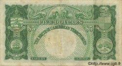 5 Dollars CARAÏBES  1950 P.03 TB à TTB